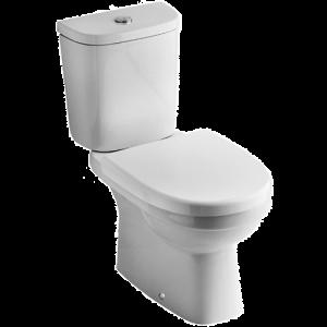 past de douchewc staande toilet