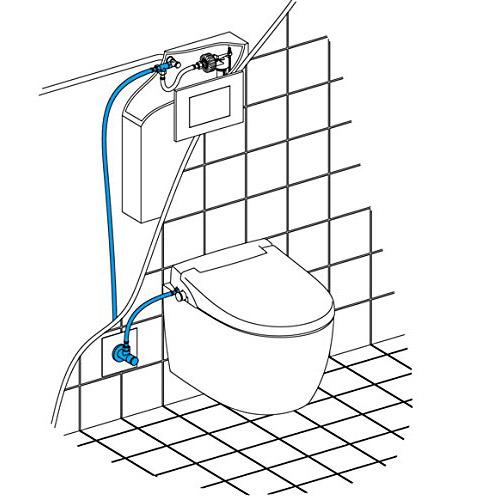 Installatie-douchewc-wandcloset-aansluiting