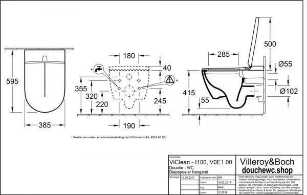 ViClean-I-100-technische-tekening-installatie