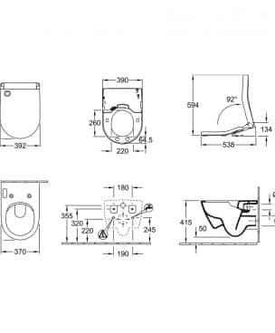 ViClean-U+_technische_tekening_montage_afmetingen_5614E8