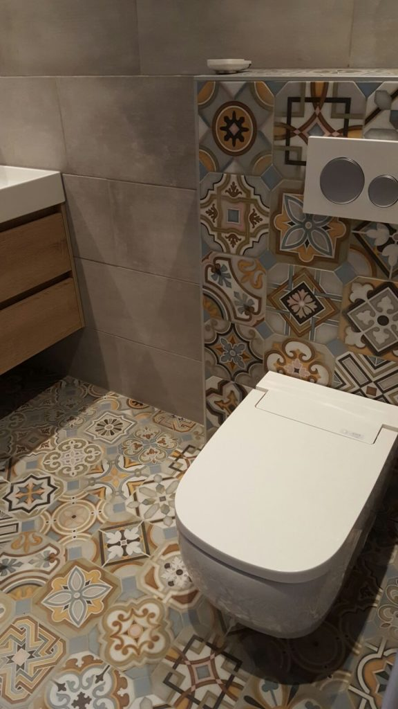 Installatie Vitra V-Care douche wc (2)